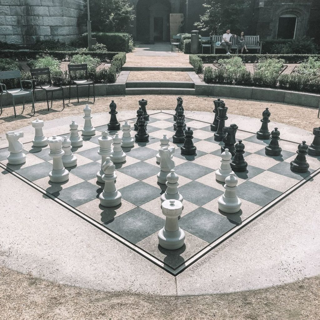Chess Game of Amsterdam